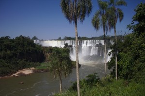 argentinian side of the falls
