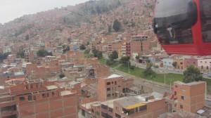 cablecar to La Paz - El Alto
