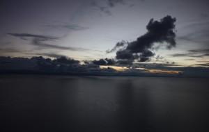 sunset lake titicaca