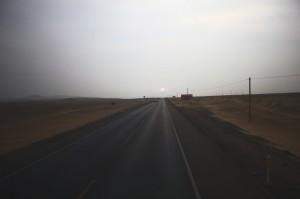 way to Paracas