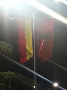 Tirana's preparing for Angela Merkel (ALB)