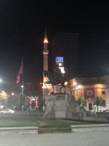 sightseeing in Tirana (ALB)