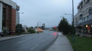 Sarajevo morning rain