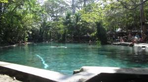 Isla de Ometepe - Ojos de Agua