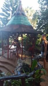 a random bar in Utila
