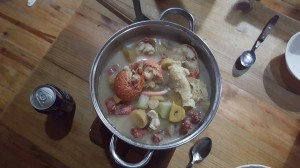 yummy fish soup