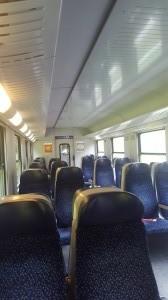 train from Salzburg to Steinach-Irdning