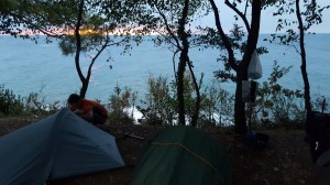 perfect camping spot